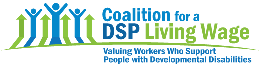 Logo Coalition for Direct Support Professional Living Wage