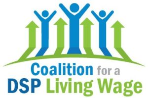 Coalition for a DSP Living Wage Logo