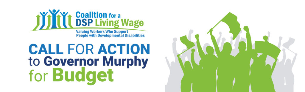 CALL FOR ACTION for Gov Murphy for budget