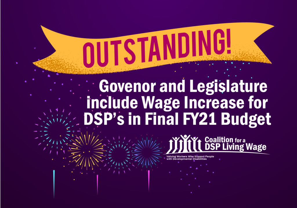 Outstanding! Gov and Leg include Wage Increase for DSP's in Final FY21 Budget-01